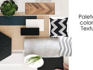 Asesoría en decoración Salas modernas de Shirley Palomino Moderno