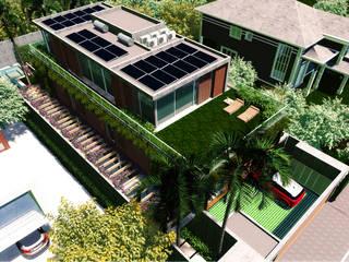 Remodelação de residência unifamiliar por Ao Quadrado Moderno