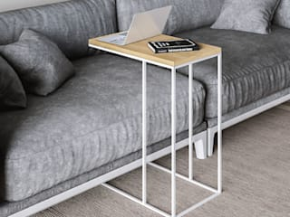 KionHome EsszimmerTische Holzspanplatte Weiß