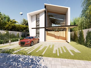 Tropical style houses by JCA Tropical