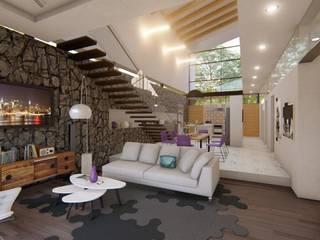 Modern Living Room by JCA Modern