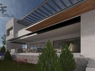 現代房屋設計點子、靈感 & 圖片 根據 GF ARQUITECTOS 現代風