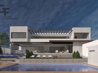 Modern houses by GF ARQUITECTOS Modern