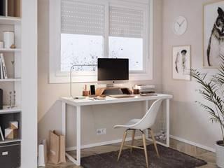 KionHome Study/officeDesks Metal White