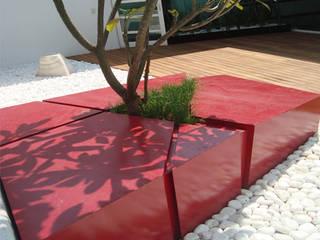 Ambiente Arquitectos Asociados, S.A de C.V. Minimalist conservatory