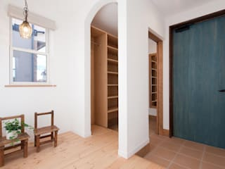 南矢野目の家 北欧スタイルの 玄関&廊下&階段 の オルタナティブデザインスタジオ 北欧