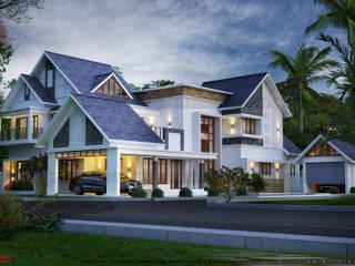 Creo Homes Pvt Ltd Case in stile asiatico