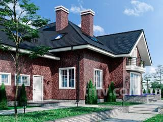 Проект дома с мансардой TMV 61 от TMV Architecture company