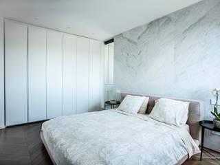 Penthouse_VE Soggiorno minimalista di Sebastiano Canzano Architects Minimalista