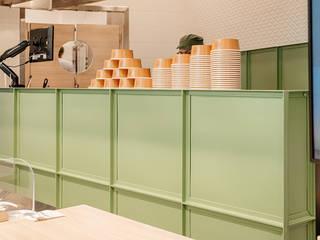 manuarino architettura design comunicazione Offices & stores Iron/Steel Green