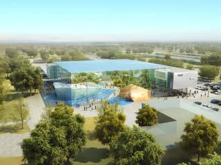 Institut für Geowissenschaften, Brasìlia Moderne Schulen von enning-architekten.de Modern