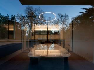 Bologna_01 Soggiorno minimalista di Sebastiano Canzano Architects Minimalista