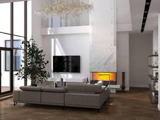 Foresters Гостиная в стиле минимализм от Мастерская дизайна ViO-design Минимализм