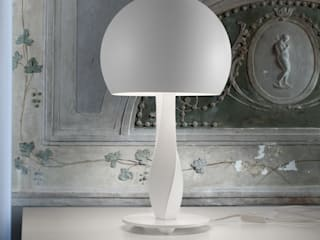 MASIERO Bustier bei lights4life lights4life GmbH & Co.KG WohnzimmerBeleuchtung Kunststoff Weiß