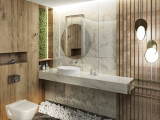 Modern bathroom by Chrobotek Design Modern