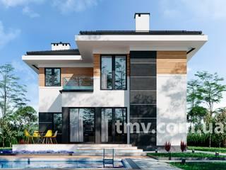Проект двухэтажного дома TMV 70 от TMV Architecture company