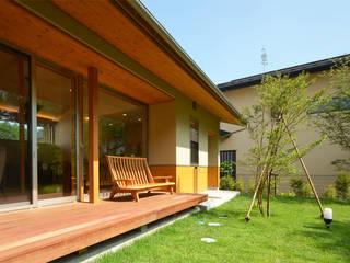 悠々楽々舎 鎌田建築設計室 アジア風 庭