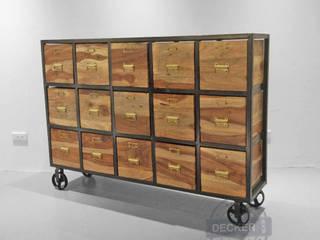 迦納15抽收納櫃 Decker Deco 家居用品儲藏櫃 實木 Wood effect