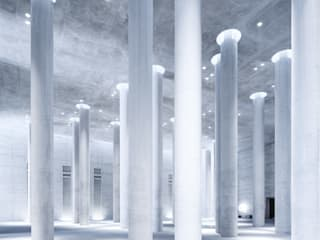 MAIPLATZ FOTOGRAFIE ミニマルスタイルな 壁&床 コンクリート 灰色