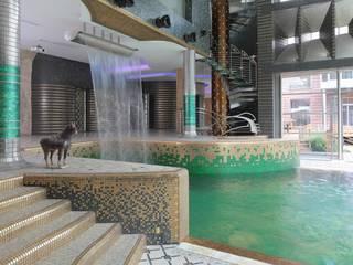 Privatvilla Moskau Ausgefallene Pools von Behir Interior Design Ausgefallen