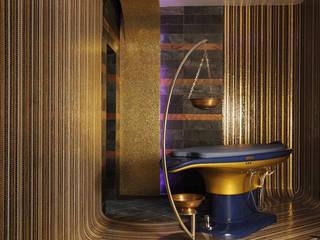 Privatvilla Moskau Ausgefallener Spa von Behir Interior Design Ausgefallen