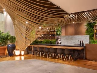 D arquitetura Tropical style bars & clubs