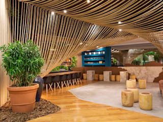 D arquitetura Eclectic style bars & clubs