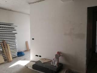 Appartamento Milano Soggiorno moderno di TREZZI INTERNI SNC DI TREZZI FAUSTO, FRANCESCO E DARIO Moderno