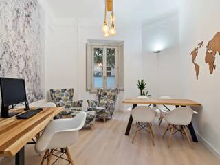 Jungles. arCMdesign - Architetto Michela Colaone Complesso d'uffici in stile scandinavo