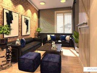 Remodelación de apartamento muy MANLY by Amvar Home Industrial