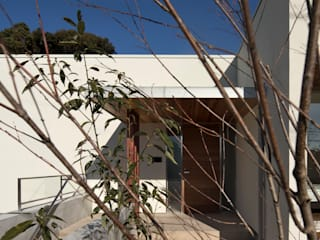 Atelier Square Case moderne Ardesia Bianco