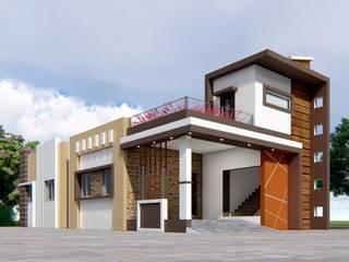3BHK Single family house at village-Wadki . Near saswad road by Nakshatra Construction