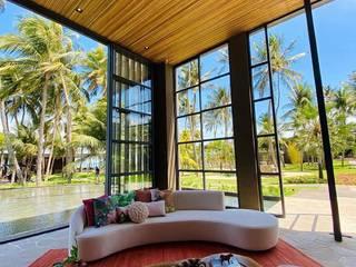 Hotel Carmel Taíba Exclusive Resort por Camacã Design em Madeira Rústico