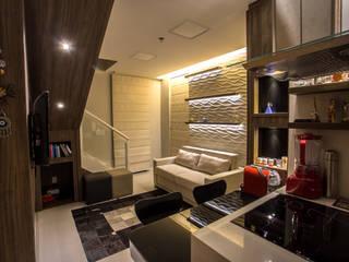 Modern living room by Marcelle de Castro - arquitetura|interiores Modern