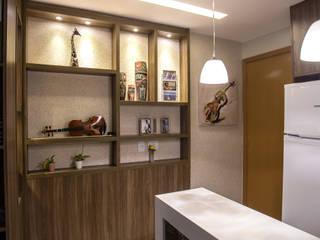 LOFT SA Salas de jantar modernas por Marcelle de Castro - arquitetura|interiores Moderno