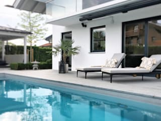 Langmayer Immobilien & Home Staging Garden Pool Concrete