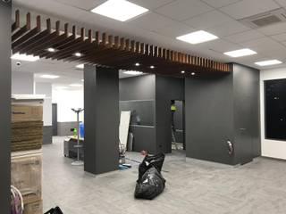 Fabricación y instalación de panelado de Fendy Design Moderno