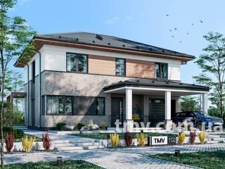 Проект двухэтажного дома TMV 102 от TMV Architecture company