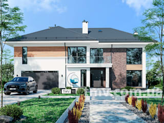 Проект дома со вторым светом TMV 10 от TMV Architecture company