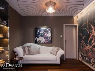 Nowoczesne domowe biuro i gabinet od Viva Design - projektowanie wnętrz Nowoczesny