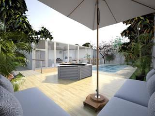 Asian style spa by عبدالسلام أحمد سعيد Asian