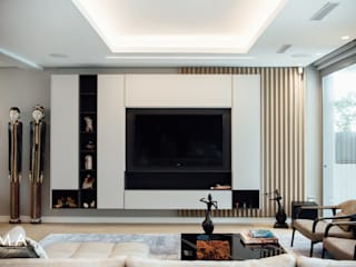 Fresnaye Townhouse Living in Fresnaye Avenues Modern living room by Jenny Mills Architects Modern