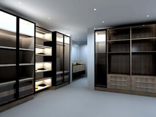 Modern dressing room by MKD Magnificent Kitchen Designs (Pty)Ltd Modern