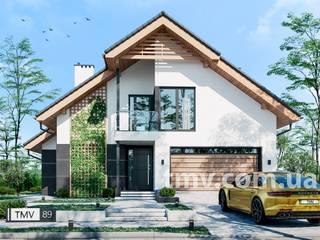 Проект дома с мансардой TMV 89 от TMV Architecture company