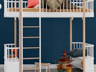 Emil & Paula Kids Nursery/kid's roomBeds & cribs Wood White