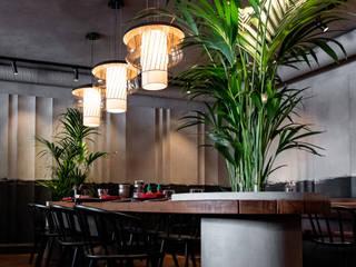 Бар-ресторан Papaya Бары и клубы в азиатском стиле от PLANTA professional design & service Азиатский