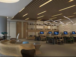 Modern Study Room and Home Office by Rijit Mimarlık Modern