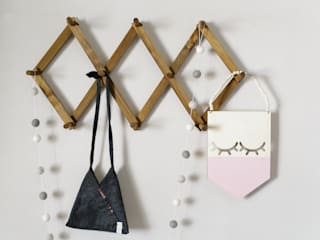 How To Make A DIY Vintage Accordion Wall Rack: country  by Lovilee Blog, Country