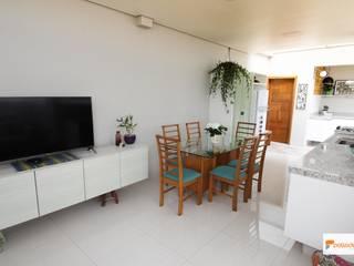 Palladino Arquitetura Eclectic style dining room