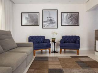 Palladino Arquitetura Modern Living Room